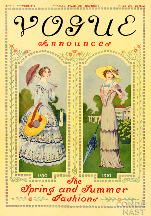Vogue Covers 1910s VINTAGE BLOG: Vogue 19...