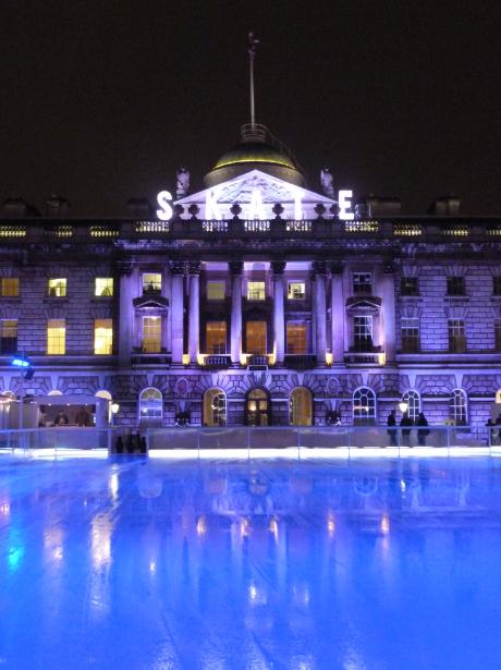 A vos patins! – Un hiver magique à la Somerset House