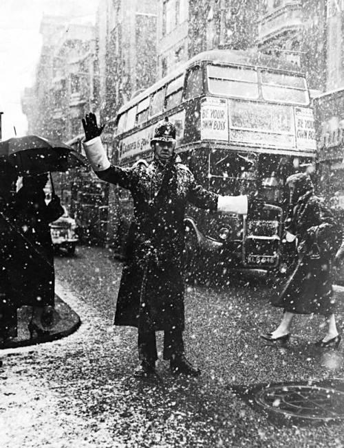 London+snow