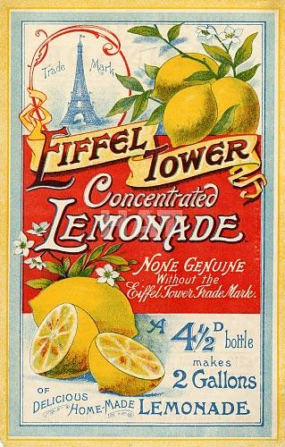Eiffel_Tower_Lemonade_Poster_1