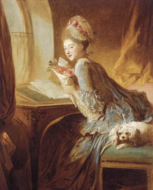 Jean-Honoré-Fragonard-The-Love-Letter