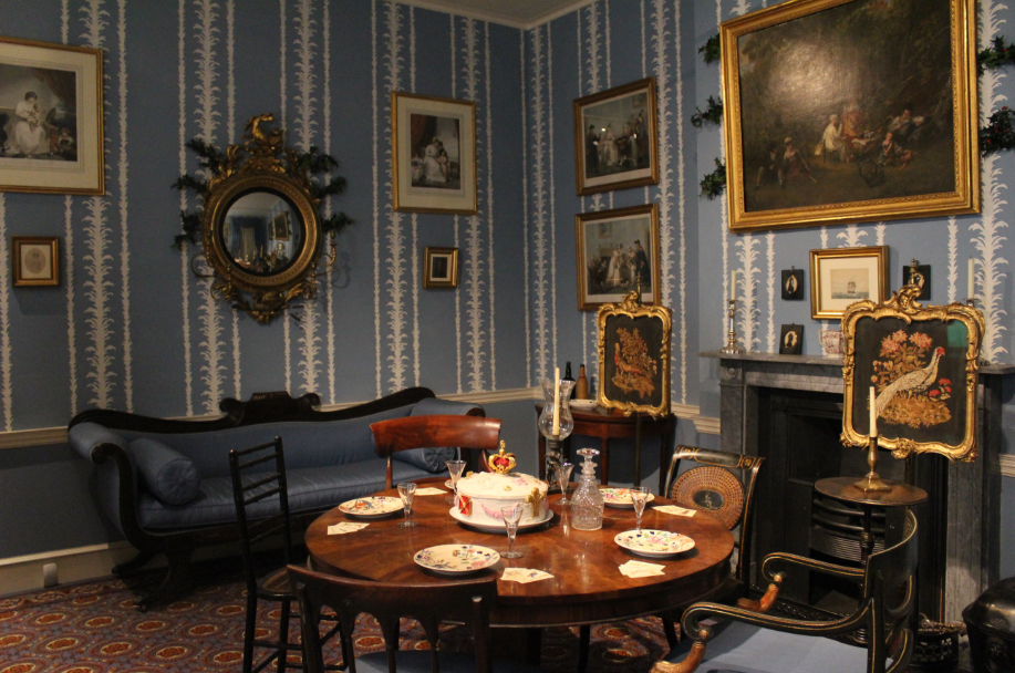 christmas past at the geffrye museum le cabinet de curiosit s de madeleine miranda. Black Bedroom Furniture Sets. Home Design Ideas