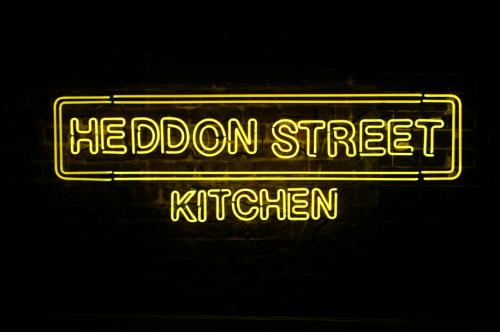 Heddon Street Sign