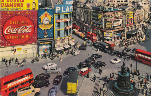Vintage Piccadilly Circus